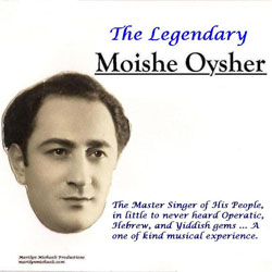 Moishe Oysher Cover